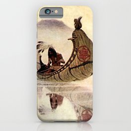 "N C Wyeth Vintage Western Painting ""Hiawatha"" iPhone Case"