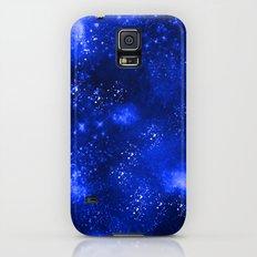 Galaxy Blue Galaxy S5 Slim Case