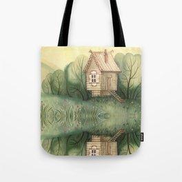 small hut Tote Bag