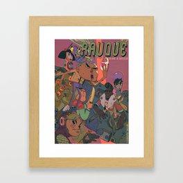 Rauque Framed Art Print