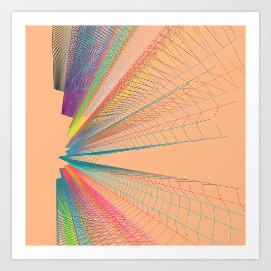 The Big Big Beat. Art Print