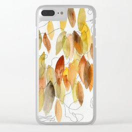 No one's left behind Clear iPhone Case