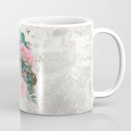 FLORAL OWL Coffee Mug