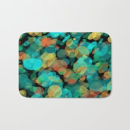 Colorful Pebbles on the Beach Bath Mat