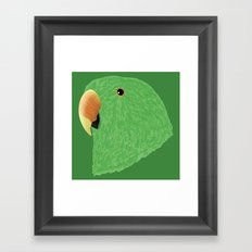 Eclectus [Male] Parrot Framed Art Print
