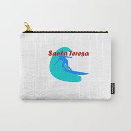 Surf, Santa Teresa and fun Carry-All Pouch