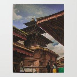 Architecture of Kathmandu City 002 Poster