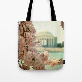 DC Cherry Blossoms Tote Bag