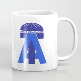 Tesla's Ambassadors Logo Coffee Mug
