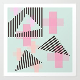 Gem & Mineral Show Art Print