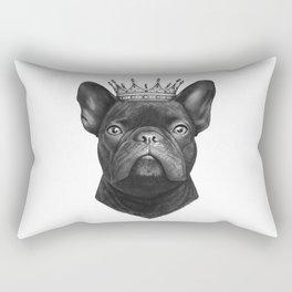 King french bulldog Rectangular Pillow