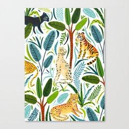 Jungle Cats Canvas Print