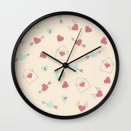 Letters for your sweetheart . Wall Clock