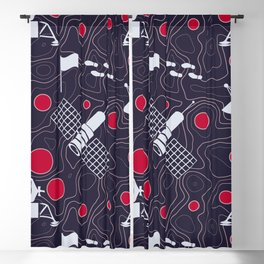 Moonmorphology Blackout Curtain