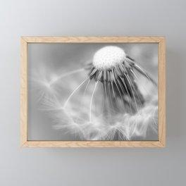 Dandelion Whispers Framed Mini Art Print
