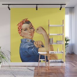 We Can Do It - Rosie the Riveter Poster Wall Mural