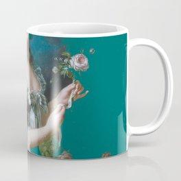 marie Antoinette teal Coffee Mug