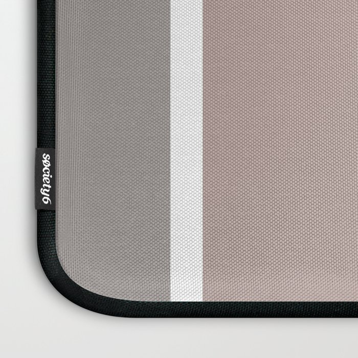 coral fade rectangles Laptop Sleeve
