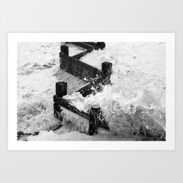 High Tide Art Print