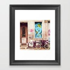 STREETART BERLIN by Jay Hops Framed Art Print