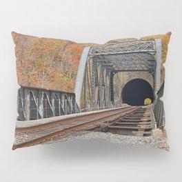 Autumn Graffiti Train Track Pillow Sham