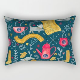 Pattern #71 - Hygge - Cosy winter Rectangular Pillow