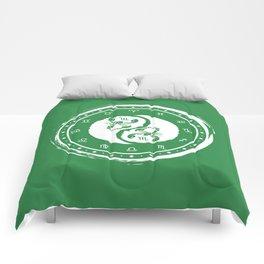 Scorpio Yin Yang Eighth Zodiac Sign Comforters
