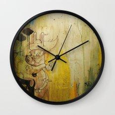 Hasenfusz / Rabbitfoot Wall Clock