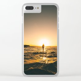 Road Trips and Skinny Dips 2 Clear iPhone Case