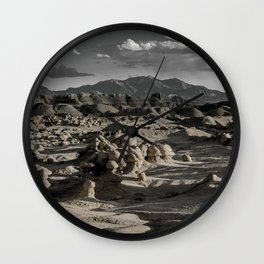 Goblin Valley and the Henry Mountains - Utah Wall Clock