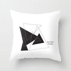 Return Home Throw Pillow
