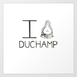Duchamp Art Print