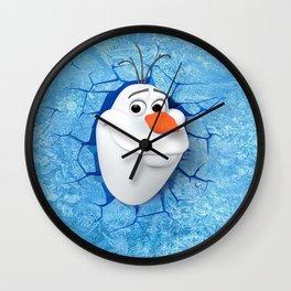 Olaf Wall Clock