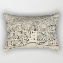 Vintage Map of St. Augustine FL (1764) Rectangular Pillow