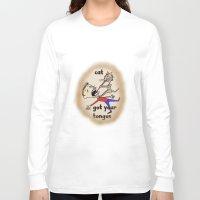 war Long Sleeve T-shirts featuring War  by David Michael Schmidt