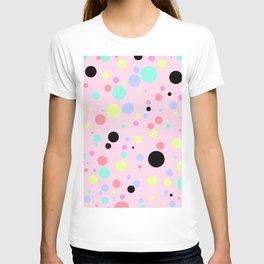 Colourful Polka Dots T-shirt