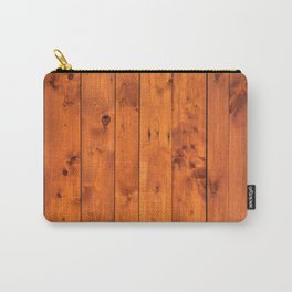 Vintage Wooden Boards Effect. Carry-All Pouch