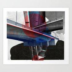 The Sur Real Man 8V2 Art Print