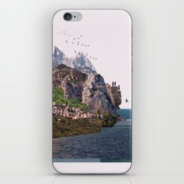 Summer ends tales iPhone Skin