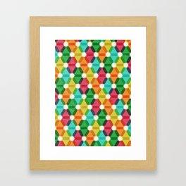 Hex Framed Art Print