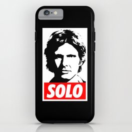 Obey Han Solo (solo text version) - Star Wars iPhone Case
