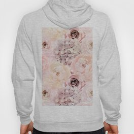 Midsummer Roses- Vintage Rose Pattern Hoody