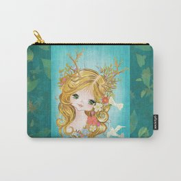 Lovely Lady Of The Woodlands Carry-All Pouch