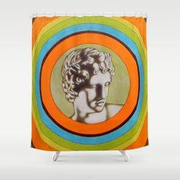 Apollo alla Galleria degli Uffizi Shower Curtain