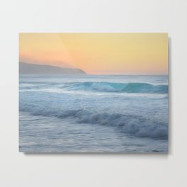 Sunset on The North Shore / Hawaii beach photography Metal Print