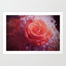 Mystic Flor Art Print