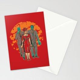 Walking MadMen Stationery Cards
