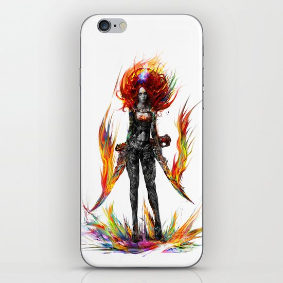 color attack iPhone & iPod Skin