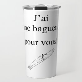 Mon Dieu! Travel Mug