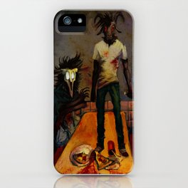 Pizza Night iPhone Case